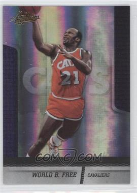 2009-10 Absolute Memorabilia #115 - World B. Free /499