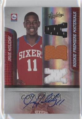 2009-10 Absolute Memorabilia #157 - Jrue Holiday /499