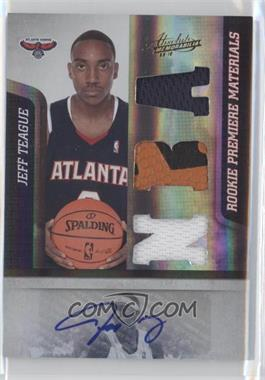 2009-10 Absolute Memorabilia #165 - Jeff Teague /499