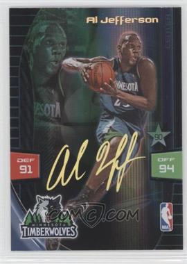2009-10 Adrenalyn XL Extra Signature #ALJE - Al Jefferson