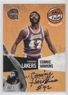 2009-10 Basketball Hall of Fame Monikers #10 - Connie Hawkins /199