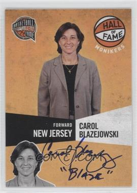 2009-10 Basketball Hall of Fame Monikers #18 - Carol Blazejowski /299