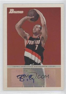 2009-10 Bowman '48 - '48 Autographs #48A-BRO - Brandon Roy