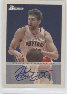 2009-10 Bowman '48 '48 Autographs #48A-ABA - Andrea Bargnani