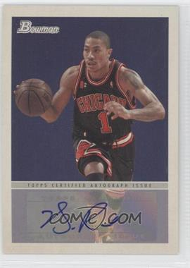 2009-10 Bowman '48 '48 Autographs #48A-DR - Derrick Rose