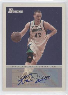 2009-10 Bowman '48 '48 Autographs #48A-KL - Kevin Love