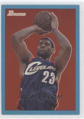 2009-10 Bowman '48 Blue #14 - Lebron James /1948