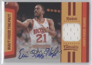 2009-10 Classics Blast from the Past Jerseys Signature [Autographed] #14 - Sleepy Floyd /25