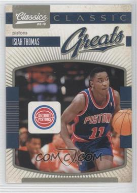 2009-10 Classics Classic Greats #12 - Isiah Thomas
