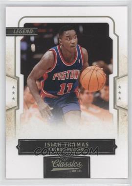 2009-10 Classics #149 - Isiah Thomas /999