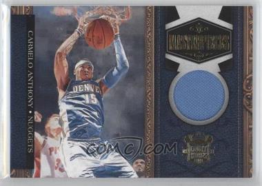 2009-10 Court Kings - Masterpieces - Memorabilia #13 - Carmelo Anthony /299