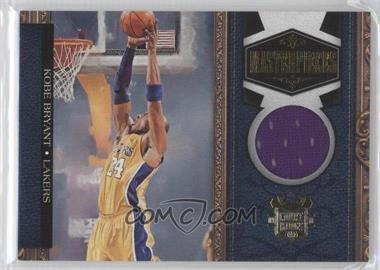 2009-10 Court Kings - Masterpieces - Memorabilia #6 - Kobe Bryant /199