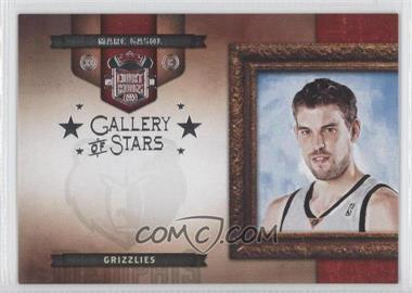 2009-10 Court Kings Gallery of Stars Silver #10 - Marc Gasol /49