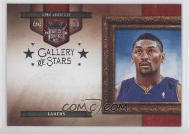 2009-10 Court Kings Gallery of Stars Silver #12 - Ron Artest /49