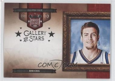 2009-10 Court Kings Gallery of Stars Silver #6 - David Lee /49