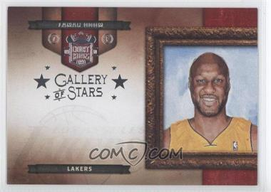 2009-10 Court Kings Gallery of Stars Silver #9 - Lamar Odom /49