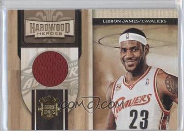 2009-10 Court Kings Hardwood Heroes Memorabilia #1 - Lebron James /299