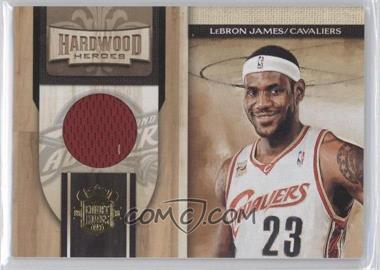 2009-10 Court Kings Hardwood Heroes Memorabilia #1 - Lebron James /299