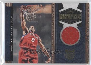 2009-10 Court Kings Masterpieces Memorabilia #14 - Andre Iguodala /299