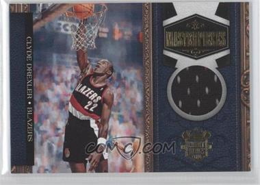 2009-10 Court Kings Masterpieces Memorabilia #19 - Clyde Drexler /299