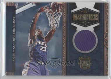 2009-10 Court Kings Masterpieces Memorabilia #4 - Jason Richardson /299