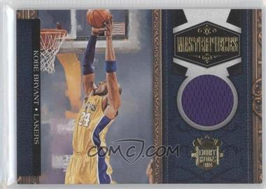 2009-10 Court Kings Masterpieces Memorabilia #6 - Kobe Bryant /199