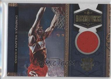 2009-10 Court Kings Masterpieces Memorabilia #9 - Dominique Wilkins /299
