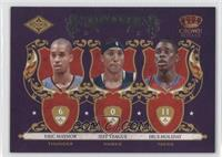Eric Maynor, Jeff Teague, Jrue Holiday