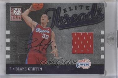 2009-10 Donruss Elite - Elite Threads - Autograph [Autographed] #20 - Blake Griffin /25