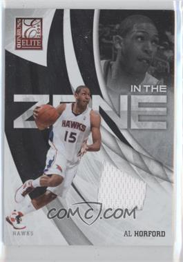 2009-10 Donruss Elite - In the Zone - Jersey #10 - Al Horford /299