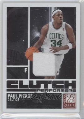 2009-10 Donruss Elite Clutch Performers Jersey Prime #1 - Paul Pierce /50