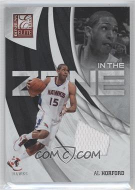 2009-10 Donruss Elite In the Zone Jersey #10 - Al Horford /299