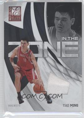 2009-10 Donruss Elite In the Zone Jersey #7 - Yao Ming /299