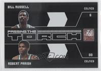 Bill Russell, Robert Parish /25