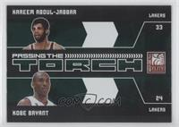 Kareem Abdul-Jabbar, Kobe Bryant