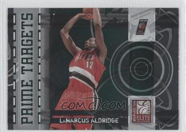 2009-10 Donruss Elite Prime Targets Green #18 - LaMarcus Aldridge