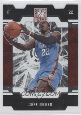 2009-10 Donruss Elite Red Status Die-Cut #83 - Jeff Green /78