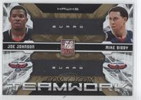 Joe Johnson, Mike Bibby /100