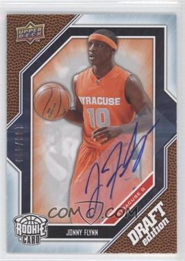 2009-10 Draft Edition Autograph Blue #52 - Jonny Flynn /499 - Courtesy of COMC.com