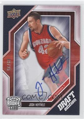 2009-10 Draft Edition Autograph Red #54 - Josh Heytvelt /25