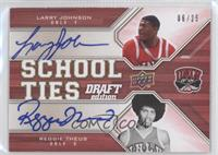 Larry Johnson, Reggie Theus /99