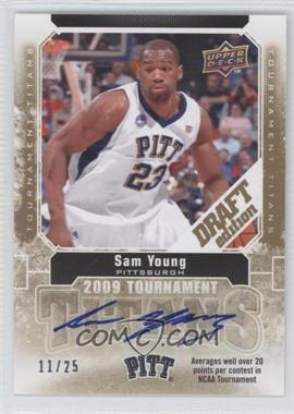 2009-10 Draft Edition Tournament Titans Autographs #TT-SY - Sam Young /25