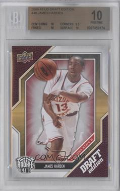 2009-10 Draft Edition #40 - James Harden [BGS 10]