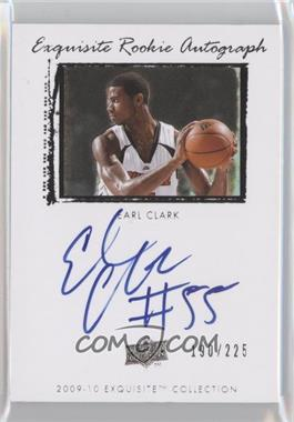 2009-10 Exquisite Collection - [Base] #49 - Earl Clark /225