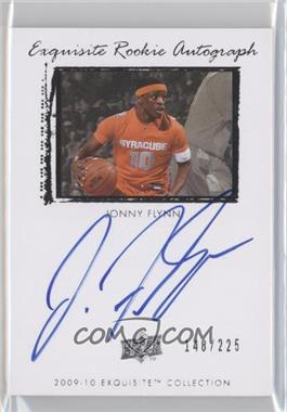 2009-10 Exquisite Collection - [Base] #58 - Jonny Flynn /225