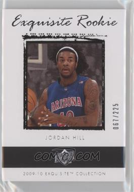 2009-10 Exquisite Collection - [Base] #67 - Jordan Hill /225