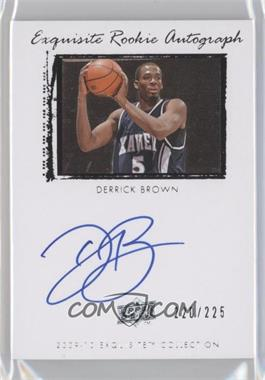 2009-10 Exquisite Collection - [Base] #68 - Derrick Brown /225