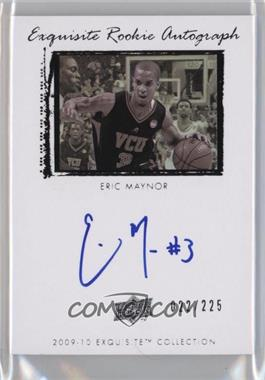 2009-10 Exquisite Collection - [Base] #71 - Eric Maynor /225