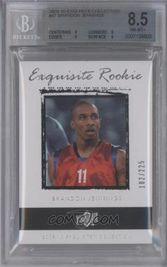 2009-10 Exquisite Collection #47 - Brandon Jennings /225 [BGS 8.5]