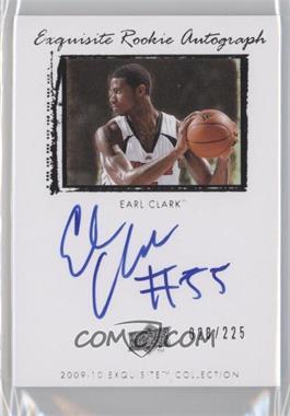 2009-10 Exquisite Collection #49 - Earl Clark /225